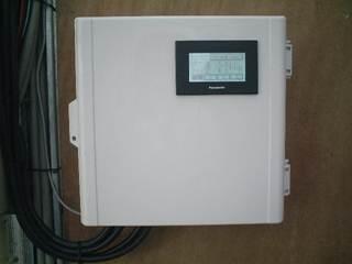 電照日射制御盤タッチパネル